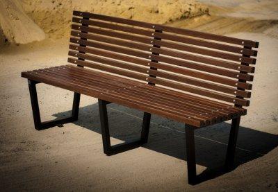 Скамейка уличная Человеси моно