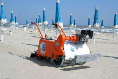 Delfino пляжеуборочная с двигателем HONDA 5.5 л.с.