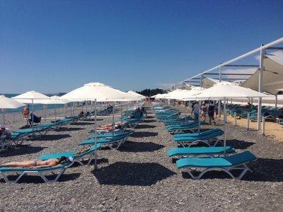Пляжный зонт диаметром 2,5 м