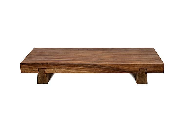 Стол деревянный журнальный Suar