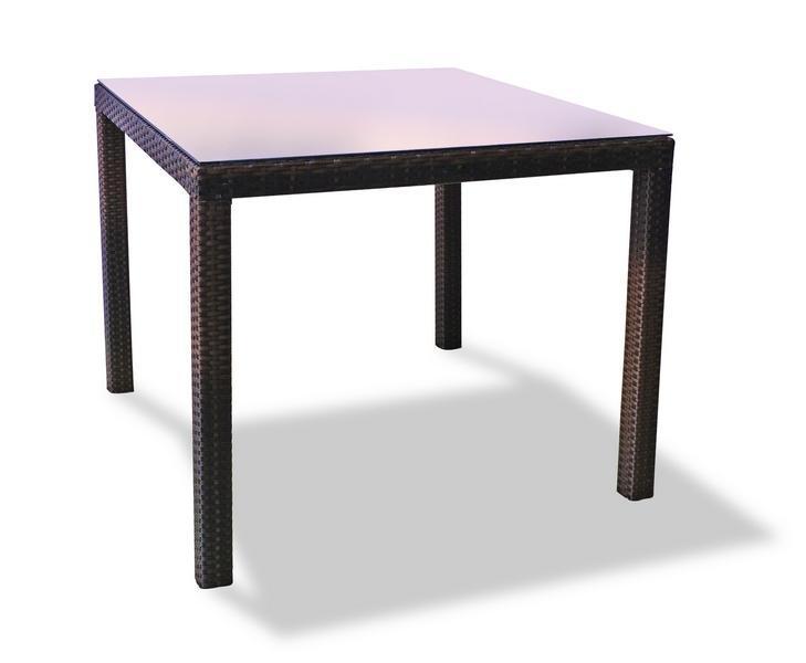 Стол плетеный обеденный Milano