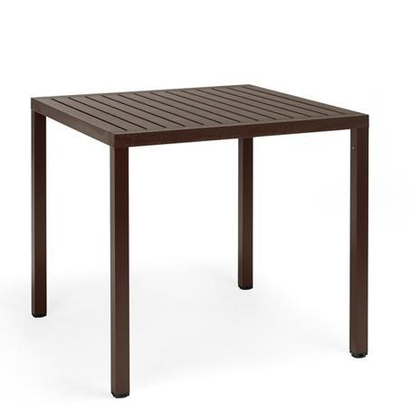 Стол пластиковый обеденный Cube 80