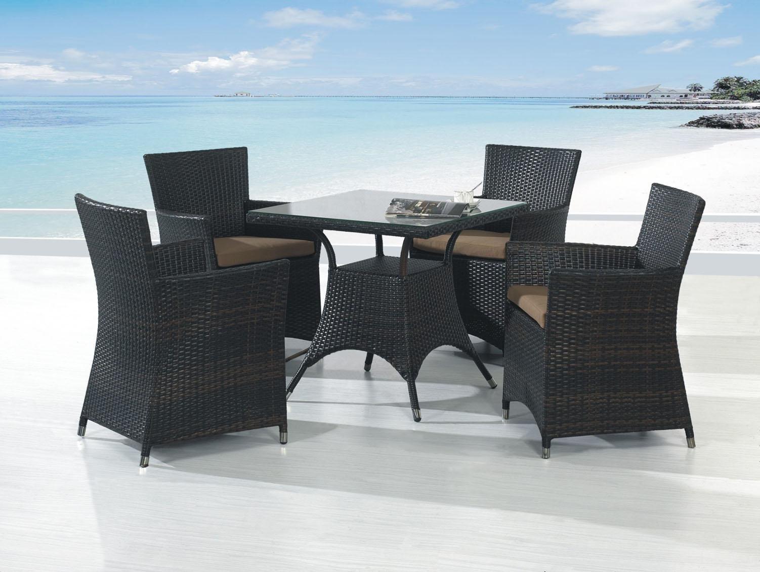 Стол плетеный обеденный Comfort