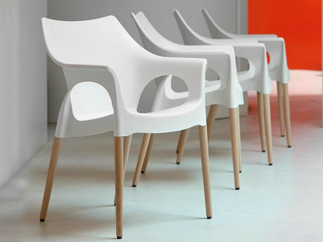 Кресло пластиковое Natural Ola