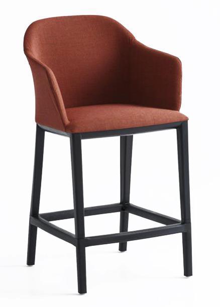 Кресло с обивкой полубарное Manaa 69