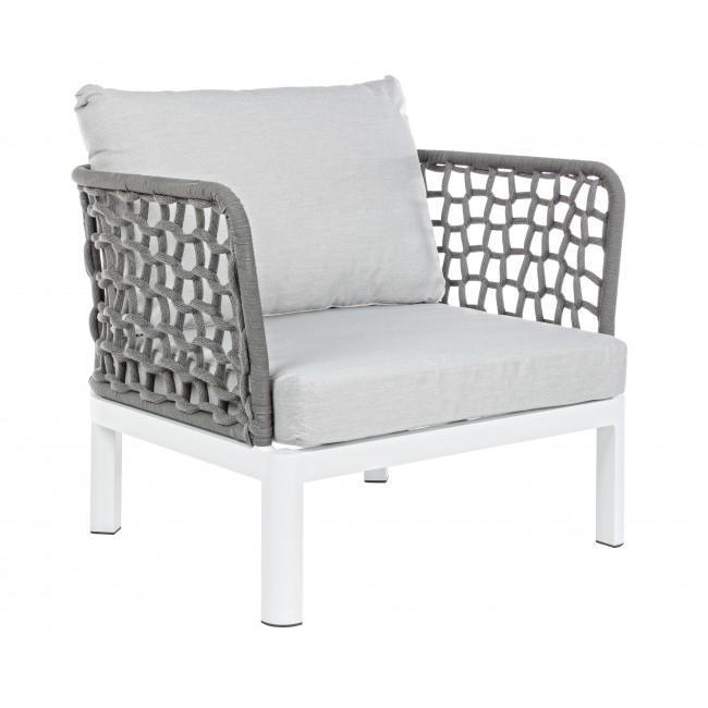 Кресло плетеное с подушками Scarlett