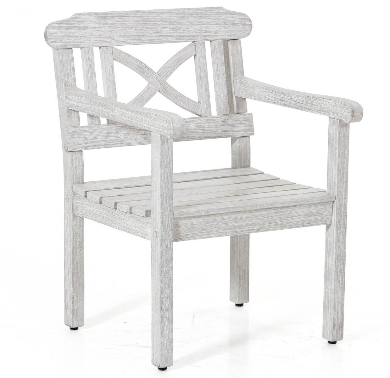 Кресло деревянное с подушками Dakota