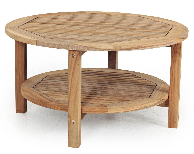 Стол деревянный журнальный Colin Milano