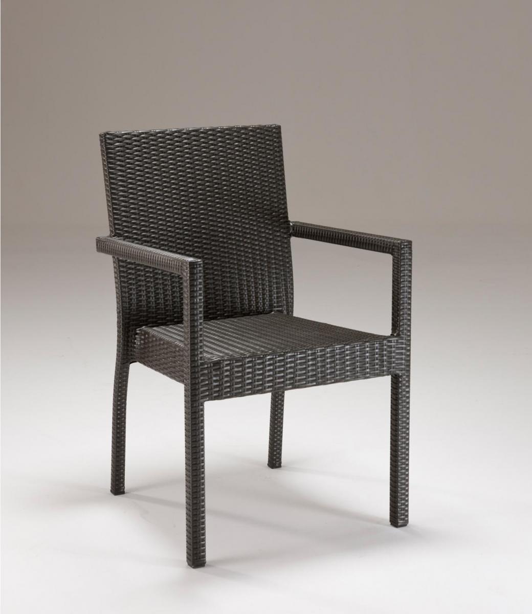 Кресло плетеное Linear