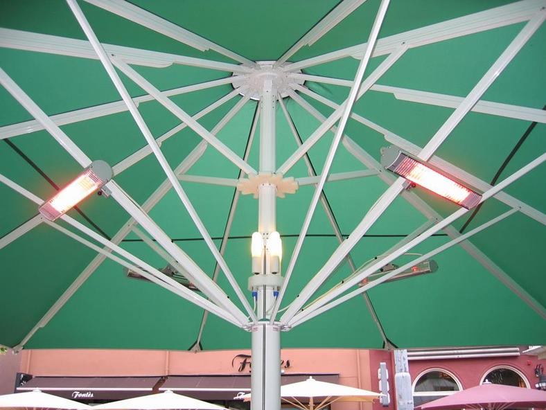 Система обогрева для зонта Jumbrella CXL