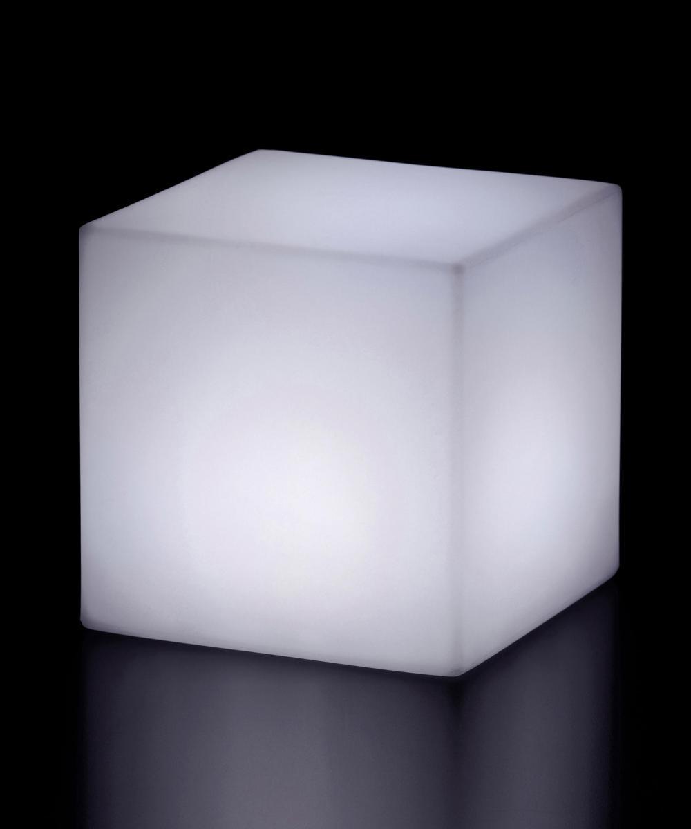 Пластиковый уличный светильник куб, Cubo