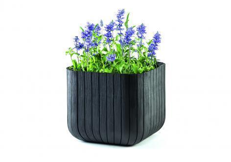 Пластиковое кашпо Cube Planter L, Flowerpots