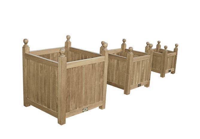 Набор деревянных кашпо, Tris