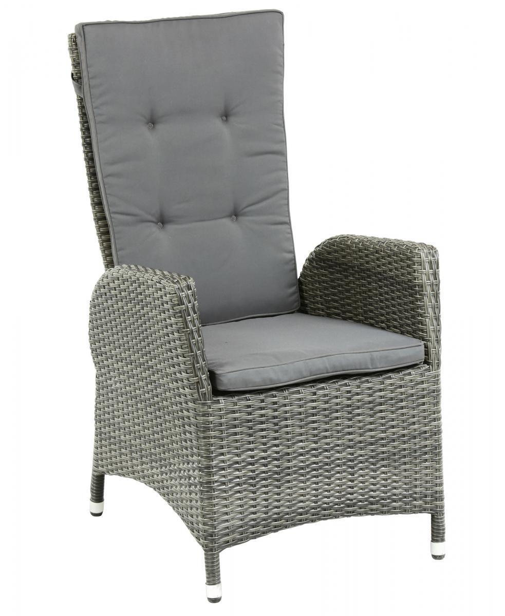 Кресло-реклайнер плетеное Menorca