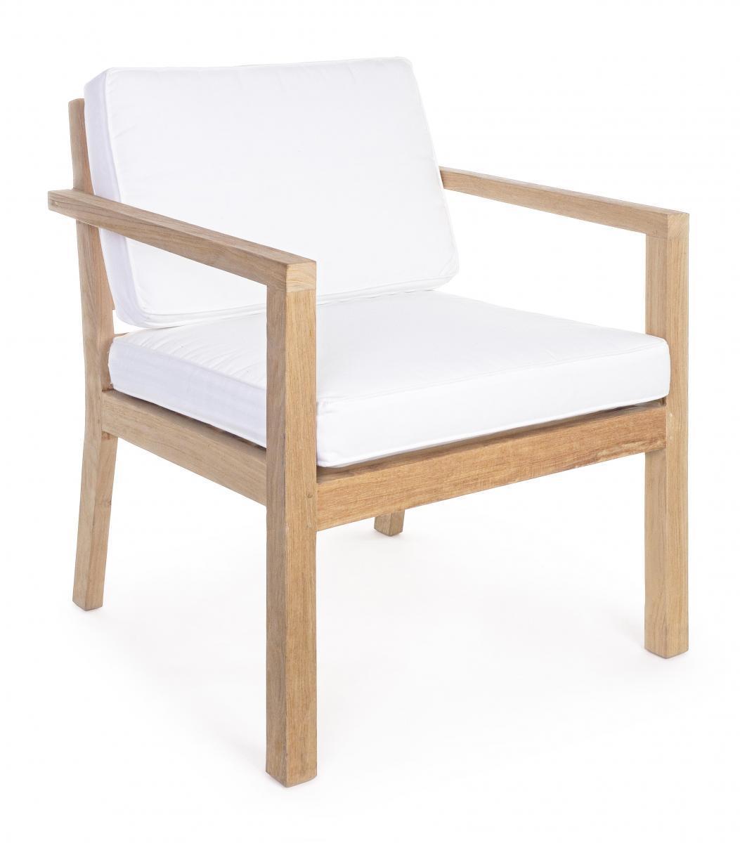 Кресло деревянное с подушками Arizona