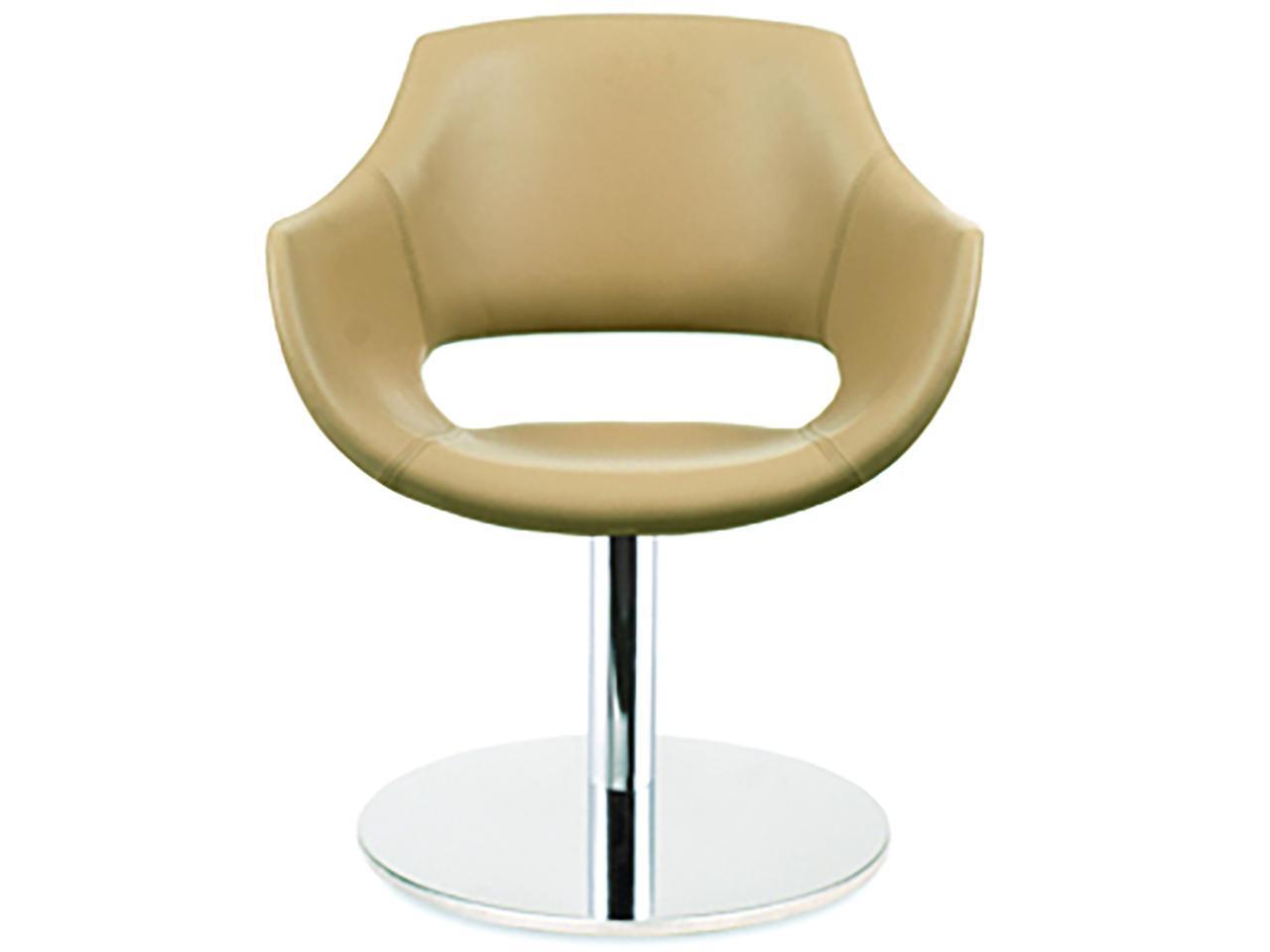 Кресло вращающееся с обивкой, PAPATYA, Opal MD, ореховый
