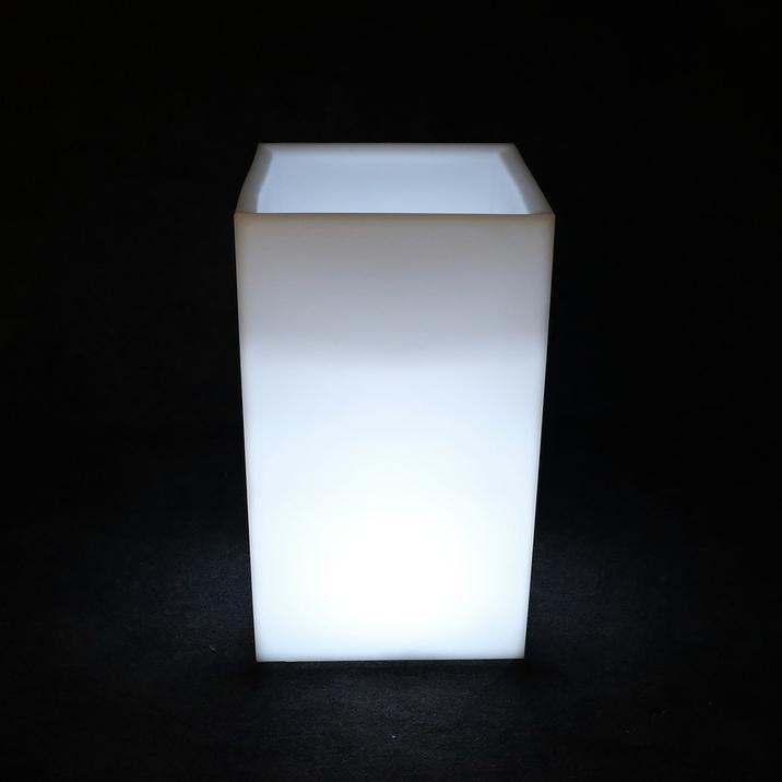 Кашпо пластиковое светящееся Vertical