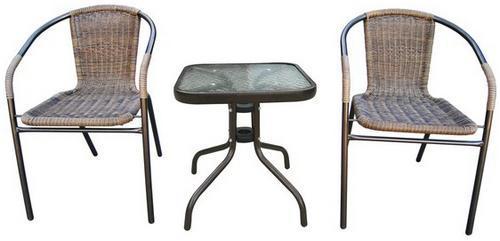 Комплект плетеной мебели Асоль-3A