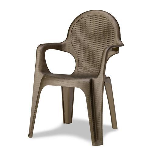Кресло пластиковое Intrecciata