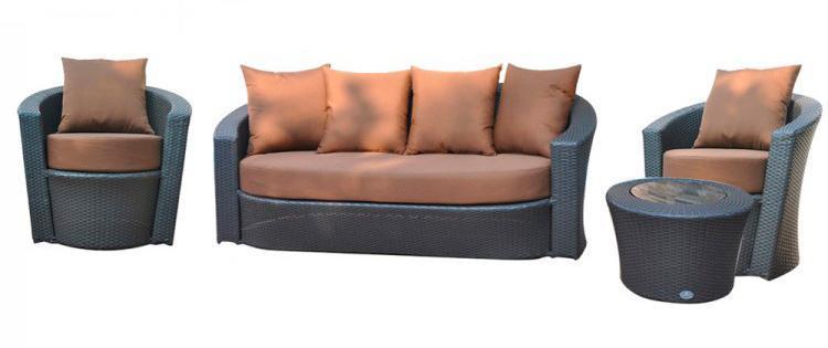 Лаунж-зона на 5 персон Комплекты мебели