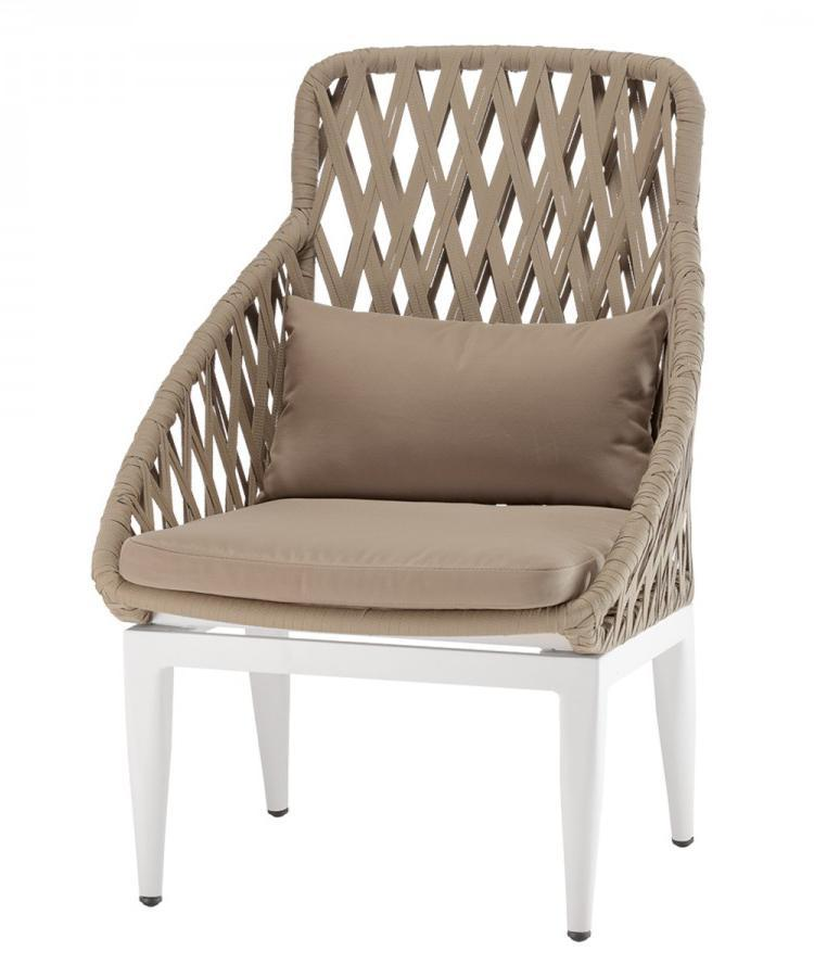 Кресло плетеное с подушкой Formentera