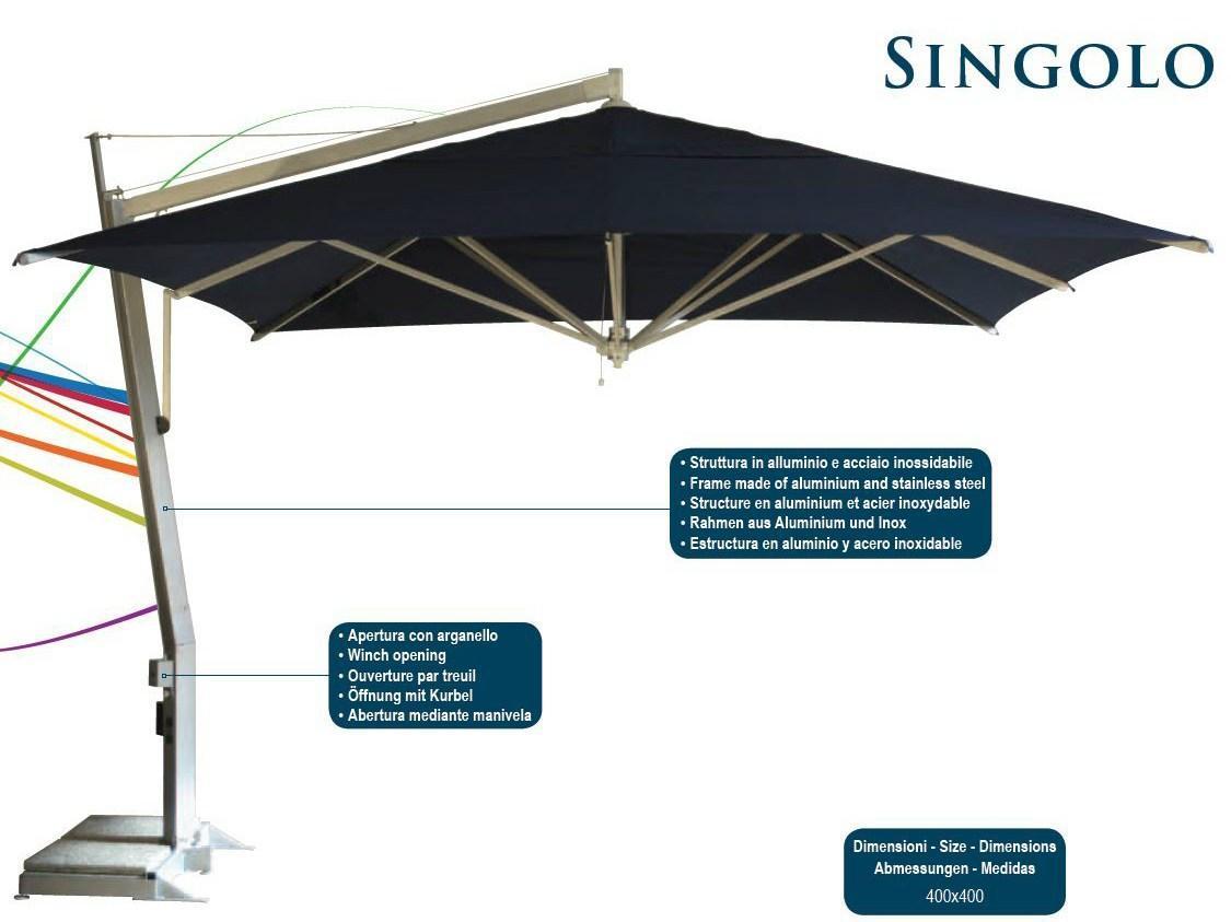 Зонт профессиональный Singolo Componibili