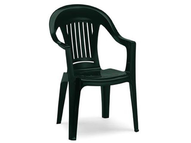 Кресло пластиковое California Scratchproof Monobloc