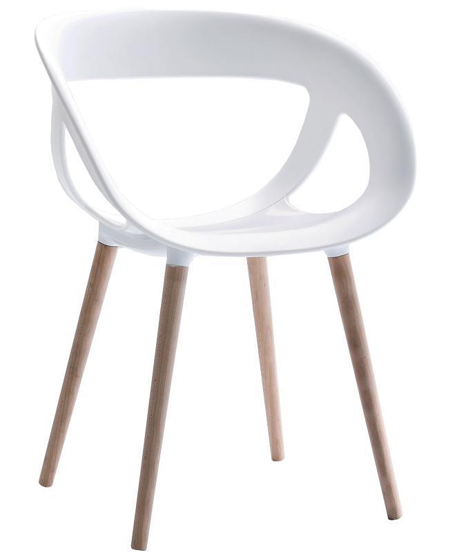 Кресло пластиковое Moema BL
