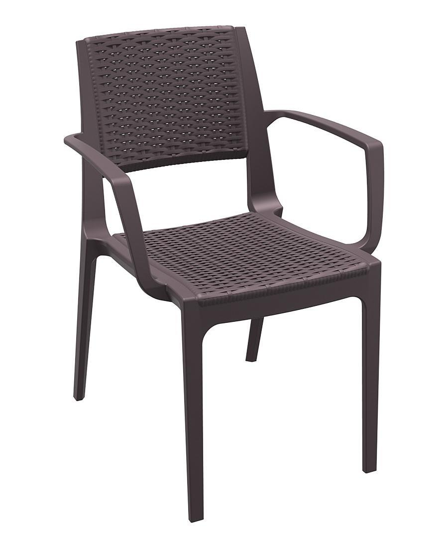 Кресло пластиковое плетеное Capri