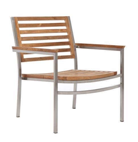 Лаунж-кресло деревянное Berbeda