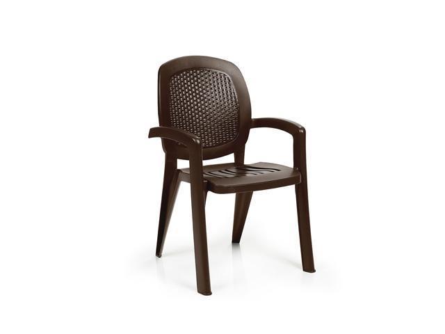 Кресло пластиковое с мозаикой Wicker Creta