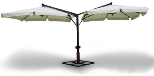 Зонт садовый двухкупольный