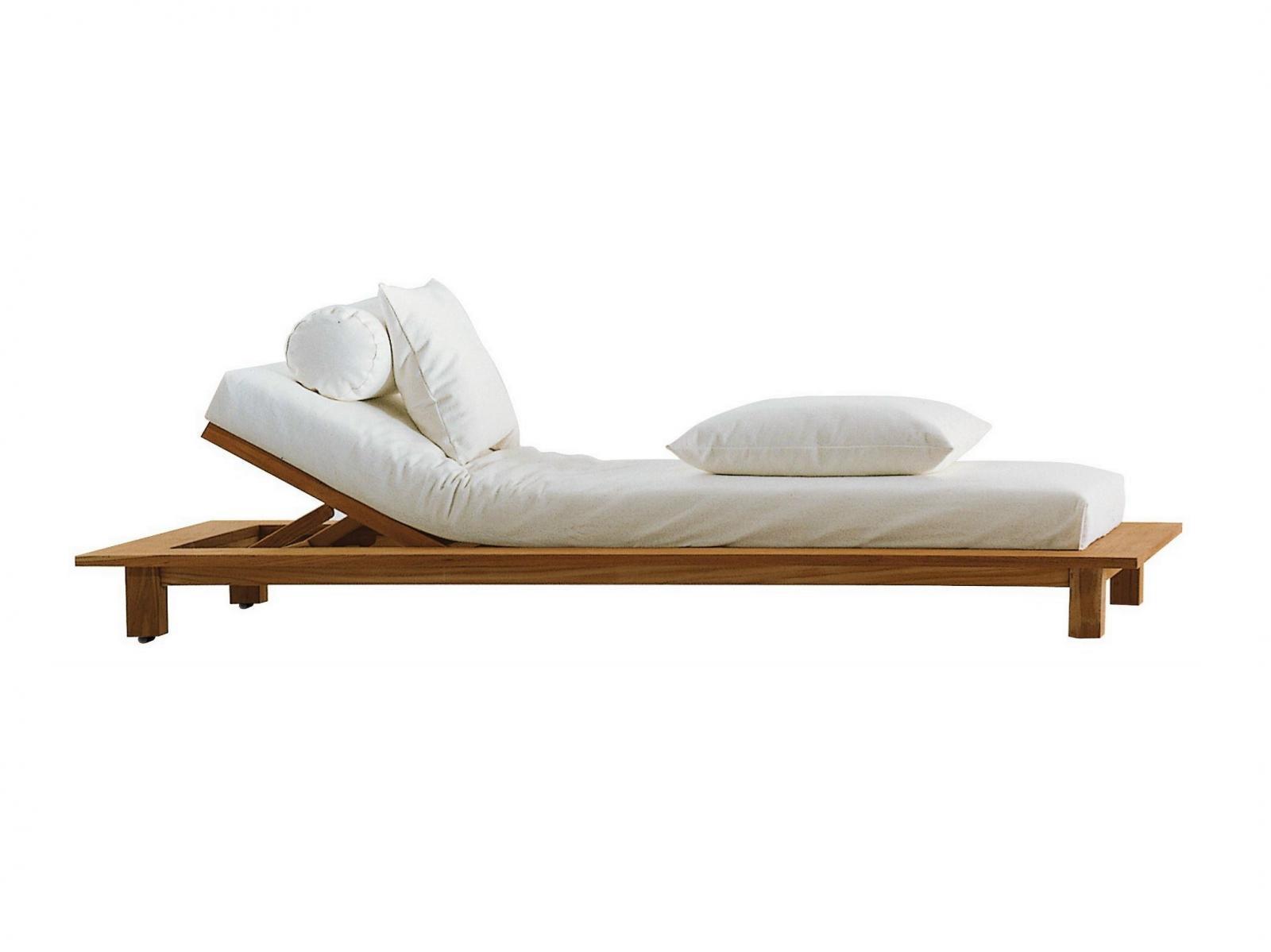 Лежак деревянный InOut