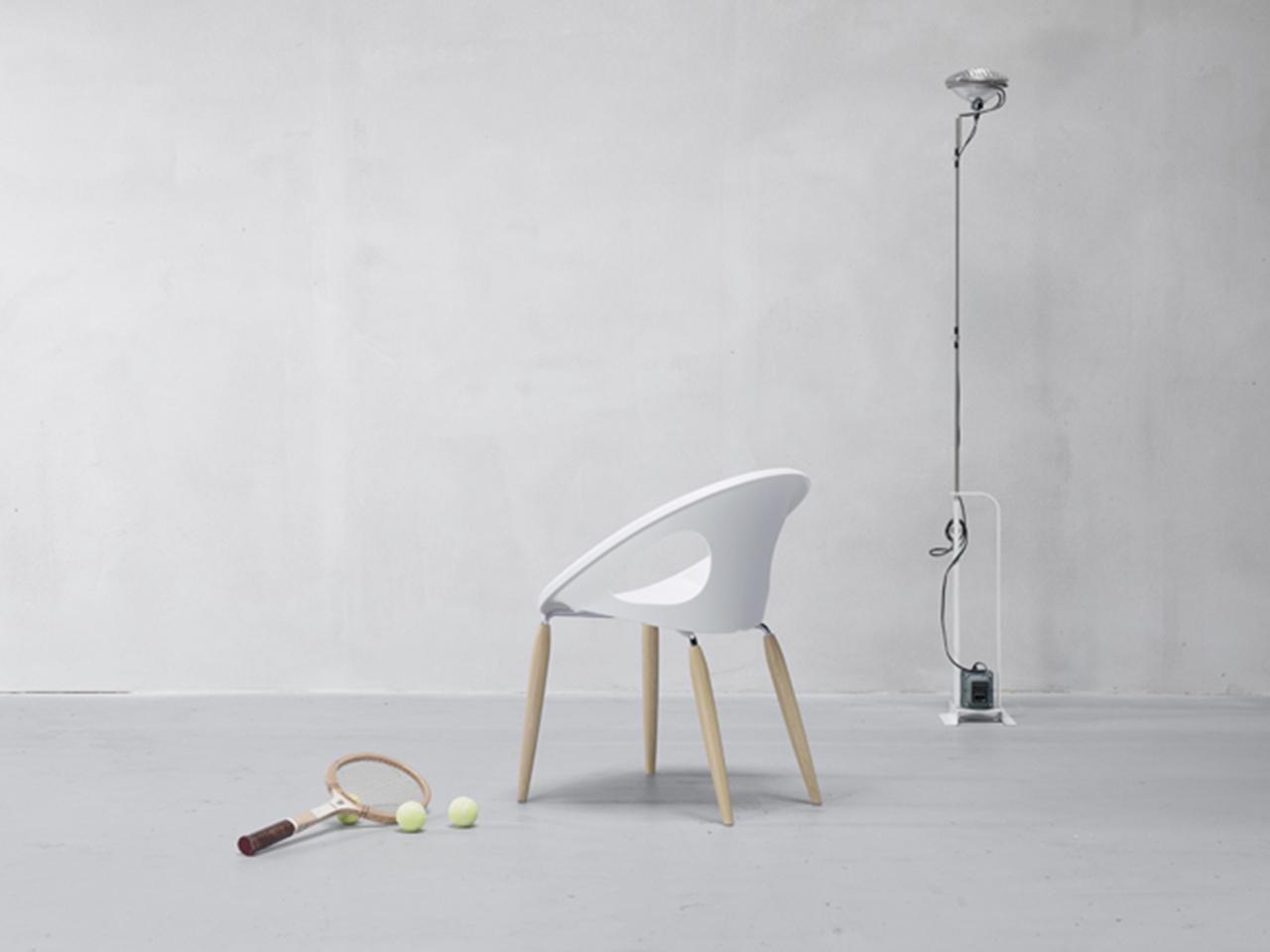 Кресло пластиковое Natural Drop