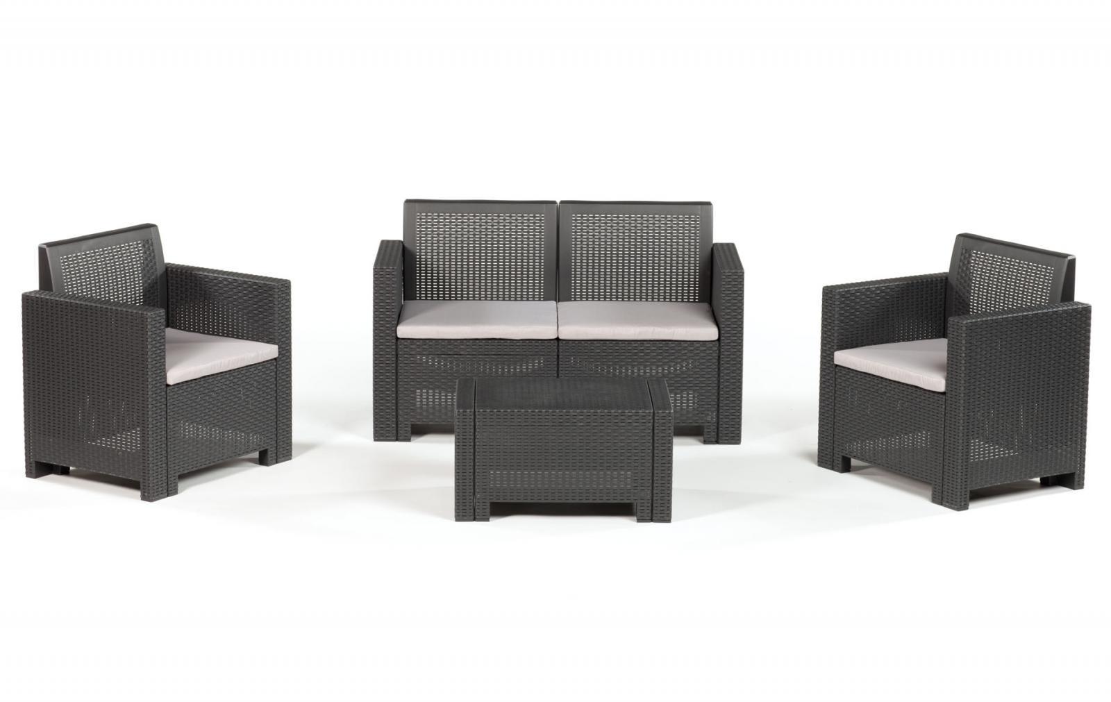 Комплект пластиковой мебели Alabama 2