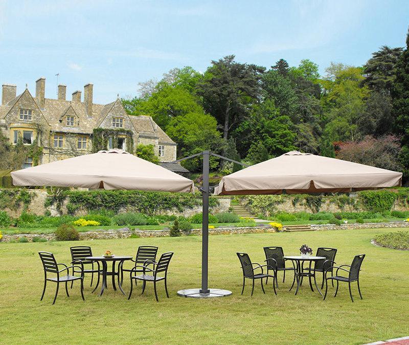 Зонт садовый двухкупольный Garden