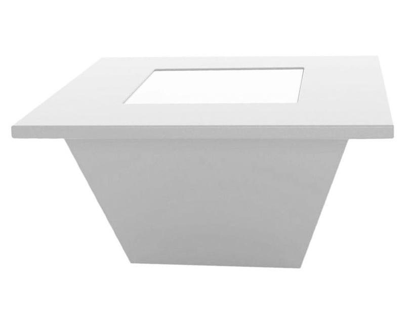 Стол/пуф журнальный пластиковый светящийся Bench Table