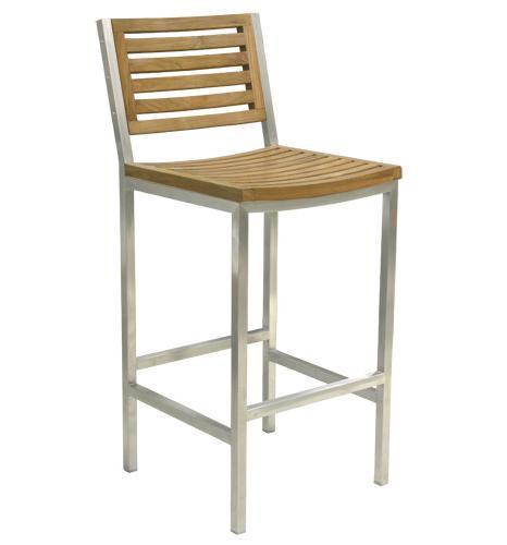 Барный деревянный стул Berbeda