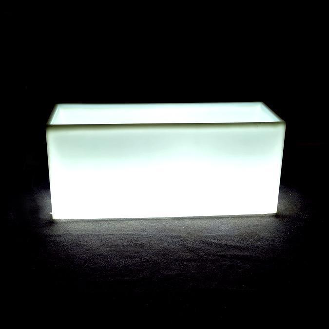 Кашпо пластиковое светящееся Horizont