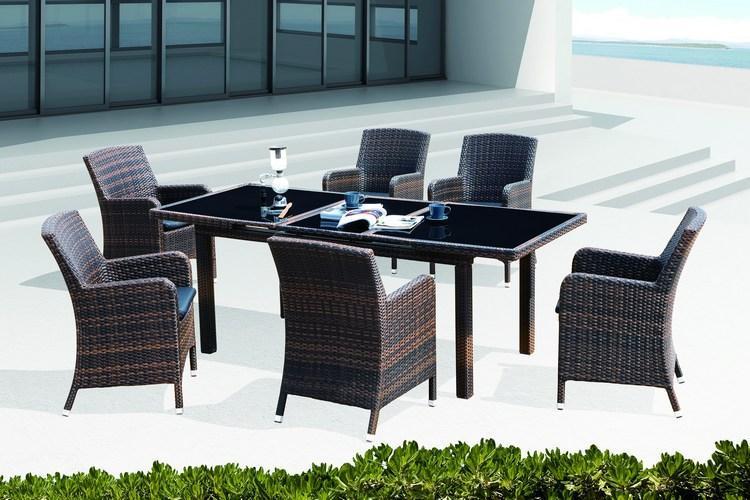 Комплект плетеной мебели Mykonos