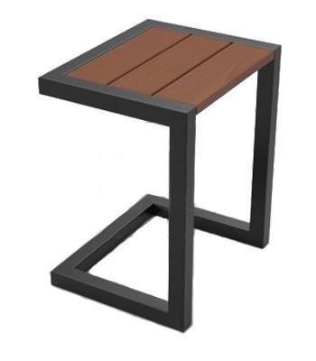 Стол деревянный журнальный Шелл