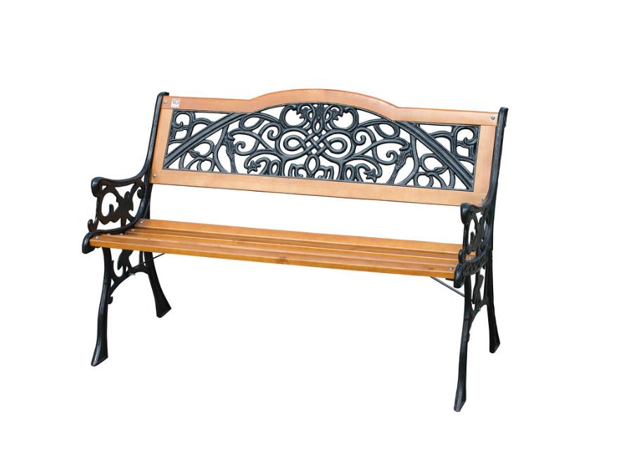 Скамейка садовая деревянная Арабеска