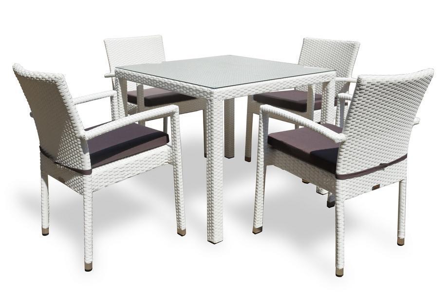 Комплект плетеной мебели Milano