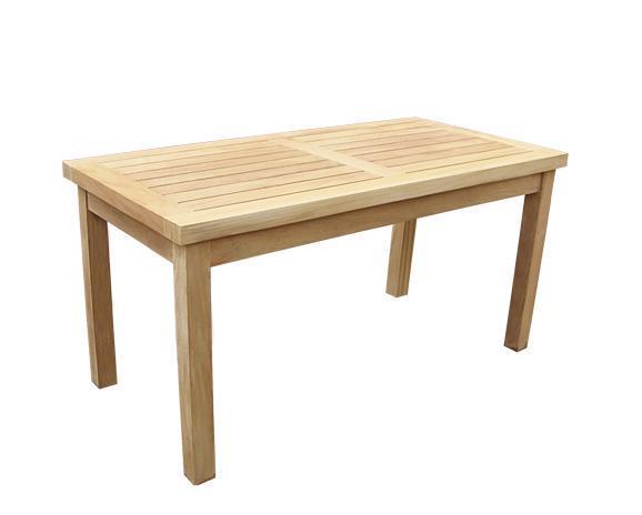 Стол деревянный журнальный Kuta