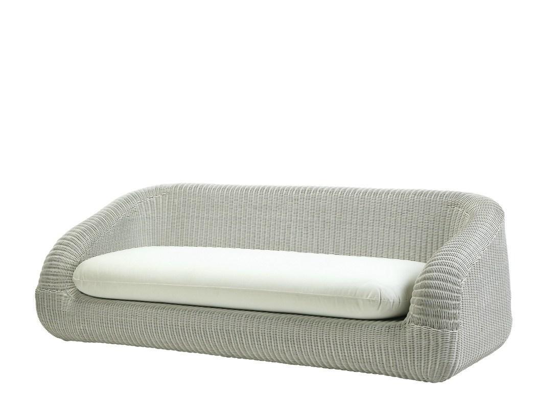 Диван плетеный с подушкой Phorma