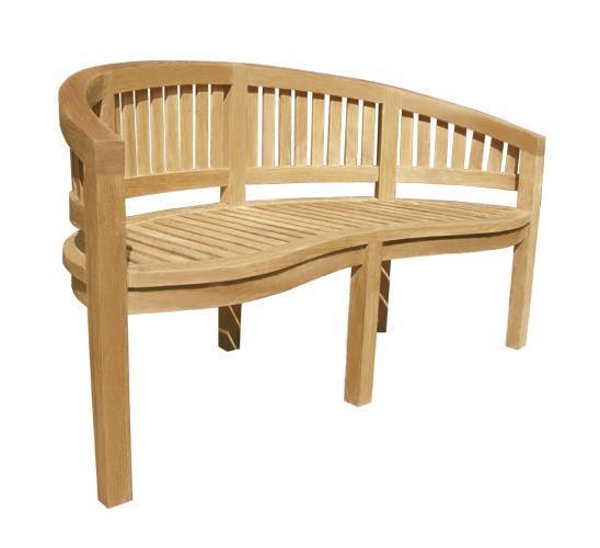 Скамейка деревянная трехместная Washington