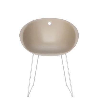 Кресло пластиковое на полозьях Gliss