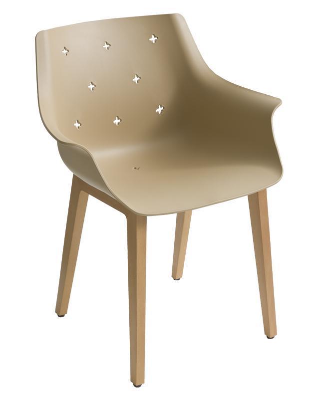 Кресло пластиковое More BL