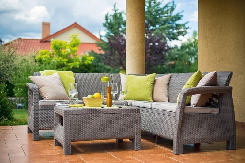 Комплект пластиковой мебели Corfu Relax Set