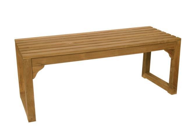 Скамейка деревянная двухместная Classica